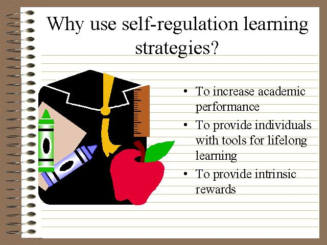 self regulation learning dissertation The primary purpose of this dissertation was to explore whether self-regulation or cognitive load have mediating effects on both learning experiences and learning.